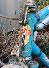 Sun Stanga 1970s retro racer barn find. (The bike guy !) Tags: seventy classic barn kinlan bikeguy restoring worksop retro vintage road racer cycle bike bici bicycle stanga sun
