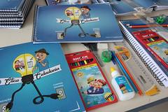 Educação entrega material escolar CEM Antonio Lucio 11 02 19 Foto Celso Peixoto  (28) (prefeituradebc) Tags: educação material escolar entrega alunos caderno lapis borracha régua apontador