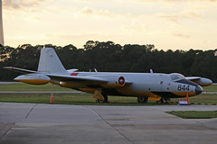 N77844 (WJ574) Enlgish Electric Canberra TT18 Royal Air Force Colours Titusville 26th October 2018 (michael_hibbins) Tags: n77844 wj574 enlgish electric canberra tt18 royal air force colours titusville 26th october 2018 aviation aeroplane aerospace aircraft airplane aero airfields historic history classic retro relics relic wrecks wreck plane planes stored storage america american usa us united states