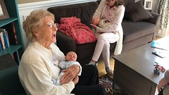 "Grandma Shirley Holds Luc • <a style=""font-size:0.8em;"" href=""http://www.flickr.com/photos/109120354@N07/46385296002/"" target=""_blank"">View on Flickr</a>"