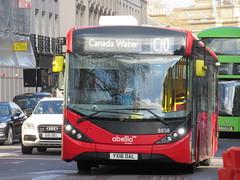 Abellio London 8858 (Teek the bus enthusiast) Tags: victoria putney bridge route 36 507 london buses go ahead abellio metroline tower transit national express