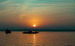 Varanasi, India (Ninara) Tags: varanasi india uttarpradesh ghat ganges ganga gangaaarti sadhu nagasadhu sunrise morning bathing holycity sun kashi benares