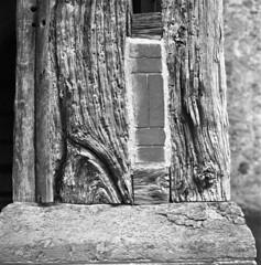 Woodworm (4foot2) Tags: stmaryandallsaintsdunsfold stmaryandallsaints dunsfold church woodworm old wood analogue film filmphotography 120film mediumformat bw blackandwhite monochrome mono kiev kiev88cm 88cm киев88cm ukrainiancamera mir38bf3565mm mir38b f3565mm yellowfilter oldfilm outofdatefilm expiredfilm experimental kodak kodakhc110 hc110 tmax kodaktmax tmax400 2019 fourfoottwo 4foot2 4foot2flickr 4foot2photostream мир38в
