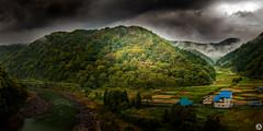 The Blues (John_Armytage) Tags: sakaemura shimominochigun toyosakae pano panorama panoramic japan autumn autumncolours johnarmytage nikond850 nikon2470 land landscape landscapephoto nisifilter