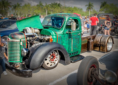 Serious Diesel Rat-Rod (MACH1N3) Tags: wednesdayphotoshare2019 concepts hotrods automobiles car custom vintage automobile thinkfastphotography truck hollywood florida unitedstatesofamerica us ratrods
