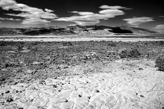 Death Valley (Tasmanian58) Tags: death valley sand desert rock geology dry pebbles stone sky landscape sun contax zeiss 28mm 2828 sony a7ii