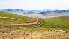 An Off-road Highway (joeri-c) Tags: offroad road track mountain hill selenge mongolia countryside asia dirtroad nomad nomadic nikon d750 nikond750 85mm