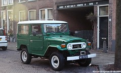 Toyota Land Cruiser BJ40 Diesel 1976 (XBXG) Tags: 40yd02 toyota land cruiser bj40 diesel 1976 toyotalandcruiser landcruiser bj 40 4x4 4wd four wheel drive vert green uiterstegracht leiden nederland holland netherlands paysbas vintage old classic japanese car auto automobile voiture ancienne japonaise japon japan asiatique asian vehicle outdoor