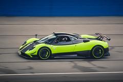 5 of 5 (Noah L. Photography) Tags: pagani zonda cinque green lime car sportscar supercar hypercar italian carbon fiber ocfestivalofspeed fontana speedway autoclubspeedway