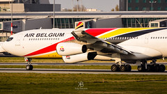 Air Belgium / Airbus A340-300 / OO-ABD (friutfulmonk58) Tags: explore sunset plane airplane aircraft airbus a340 a340300 air belgium airbelgium warsaw poland waw epwa chopin airport spotting spotter planespotting