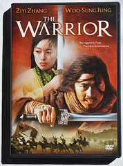 The WarrioR (Veee Man) Tags: gimp nikond5000 loslunas newmexico meadowlake white red movie dvd foreignmovie china thewarrior sword martialarts ziyizhang woosungjung thelegendistrue theheroisimmortal