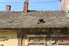cables and small window (Hayashina) Tags: serbia petrovaradin window cable roof texture htt