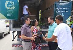 20.03.19 Pedágio Ambiental 2019 começa com distribuição de mudas em três pontos da cidade.