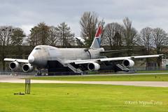G-MKGA  B742F  MK Airlines (Keith Wignall) Tags: gba kemble b747 b742 b742f