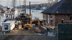 Renovation - 5 (johnarey) Tags: americanboathouse construction camden maine