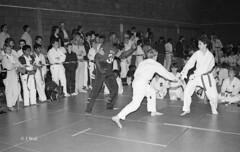 Katsu Karate 1987 pic15 (walljim52) Tags: katsu karate burntwoodrecreationcentre 1987 sport man woman child dojo mono blackandwhite