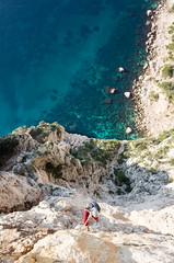rappel (knipserkrause) Tags: calanques provence