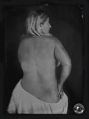 Pigalle (LA CAGE AUX FAUVES) Tags: vintage oldpict ambrotype ferrotype portrait nb collodion