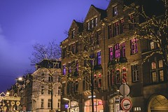 The Colors of the buildings (Oash_Dany) Tags: amsterdam holland longexposure nightshot bruxelles belgium