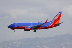B737 N903WN Los Angeles 22.03.19 (jonf45 - 5 million views -Thank you) Tags: airliner civil aircraft jet plane flight aviation lax los angeles international airport klax b737 737 southwest airlines boeing 7377h4w n903wn