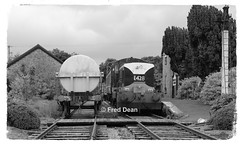 Dunsandle Station. (Fred Dean Jnr) Tags: loughreaattymonlightrailway maybach e428 dunsandlestationgalway july2016 dunsandle galway irishrailways abandonedrailways