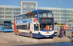 Stagecoach Cambus ADL Enviro 400 19890 AE11FUG in Bedford (Mark Bowerbank) Tags: stagecoach cambus adl enviro 400 19890 ae11fug bedford