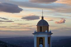 Ciel-et-Clocher (RS...) Tags: corse cervione campanile clocher belltower ciel sky nuages clouds d800