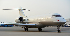 Global   VP-BVG   AMS   20140801 (Wally.H) Tags: bombardier global express bd700 xrs vpbvg ams eham amsterdam schiphol airport