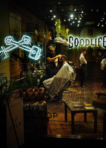 Late night barber