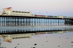 2018_05_06_0223 (EJ Bergin) Tags: sussex westsussex landscape worthing sunset beach sea seaside worthingpier seafront reflection