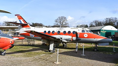 Handley Page Jetstream T.1 c/n 425 United Kingdom Air Force serial XX499 code G (Erwin's photo's) Tags: united kingdom weybridge brooklands museum london bus england preserved handley page jetstream t1 cn 425 air force serial xx499 code g