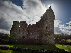 Monea Castle (Hector Patrick) Tags: capture1pro flickrelite pentax monea castles sunlight history historic