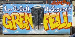 Street Art, London E1. (piktaker) Tags: london londone1 e1 wallart streetart urbanart art spraypainting grenfell graffiti