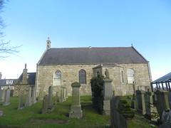 Tarves Parish Church, Tarves, Aberdeenshire, Feb 2019 (allanmaciver) Tags: tarves church parish gravestones weather february trees aberdeenshire architecture 1798 country allanmaciver