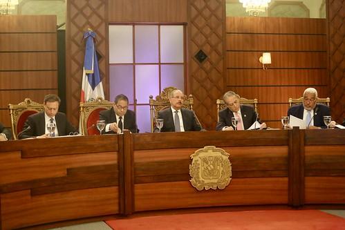 Consejo Nacional de la Magistratura evalúa a actuales jueces Suprema Corte de Justicia