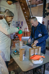 Holgate Windmill milling day - 11