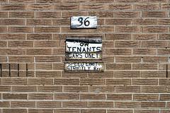 Yarraville (Westographer) Tags: yarraville melbourne australia westernsuburbs suburbia typography sign signs signage parkingsigns weathered patina brickwall mundane