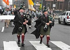 Watson Highlanders pipers