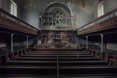 Uncommunicative (andre govia.) Tags: abandoned derelict decay decayed decaying decayedbuildings closed creepy cinematic church chapel