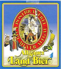 Germany - Postbrauerei Karl Meyer (Nesselwang) (cigpack.at) Tags: germany deutschland postbrauereikarlmeyer nesselwang allgäuerlandbier bier beer brauerei brewery label etikett bierflasche bieretikett flaschenetikett