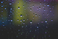 Dark and raining day today (Julie Greg) Tags: rain water window weather colours canon drops