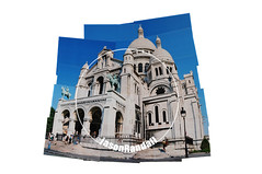 SACRE COURE (jasonrandall888) Tags: photography nikon 35mm fuji film analogue collage picture joiner travel sky architecture wanderlust country france germany usa italy new york city nyc paris rome verona music drum scotland england hawaii florence tree autumn sea beach seaside holiday petra jordan panoramic world church castle skyline landscape seascape venice vespa boat sailing water stone palace statue sacre couer holy