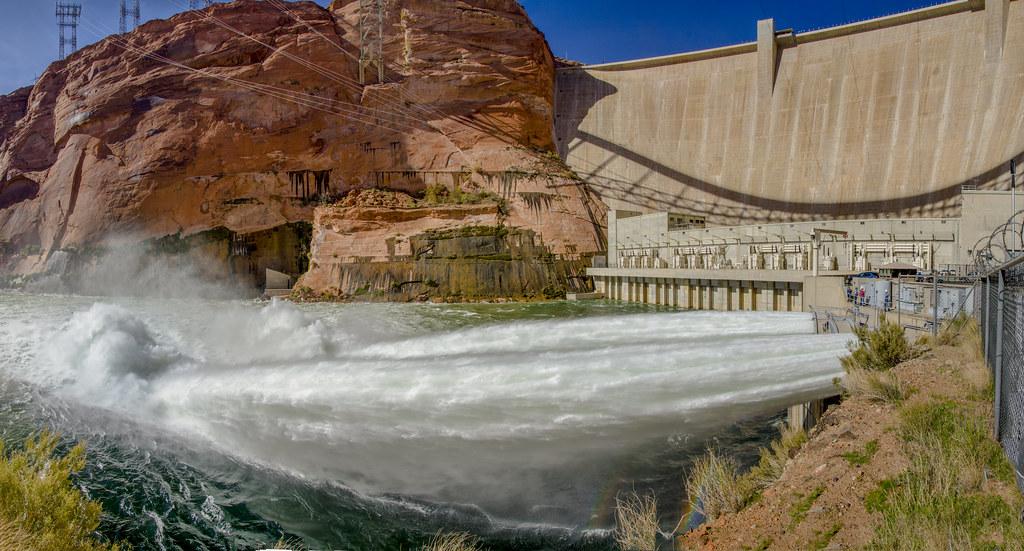 2018 High-flow Release - Glen Canyon Dam