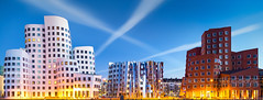 _MG_6864 - Gehry-Bauten №2 (AlexDROP) Tags: 2015 dusseldorf germany deutschland travel color building city urban architecture sky canon6d ef241054lis best iconic famous mustsee picturesque postcard circpl panoramic longexposure