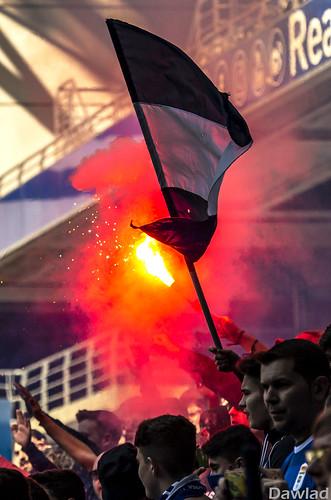 Banderas y bengalas