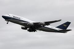 G-BYGC 747-436 (Ian Tate) Tags: londonheathrow lhr egll gbygc boeing747436 britishairways boac baretrojet