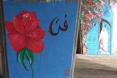 tunis_DSC04515 (ghoermann) Tags: geo:lat=3681062471 geo:lon=1018775940 geotagged medina tun tå«nis tunisia tūnis geo:lat=3680003124 geo:lon=1018371196 streetart art painting