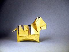 Tiger - Tsuruta Yoshimasa (Rui.Roda) Tags: origami papiroflexia papierfalten tigre tiger tsuruta yoshimasa