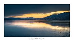 Sunset (Ignacio Ferre) Tags: manzanareselreal madrid españa spain paisaje landscape sunset anochecer panorama embalsedesantillana lago lake agua water nikon naturaleza nature