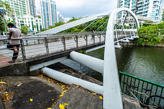 Robertson Quay Bridge (Thanathip Moolvong) Tags: robertson quay bridge singapore